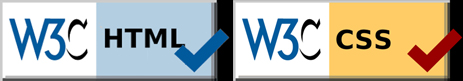 Click here to visit the W3C Markup Validation Service