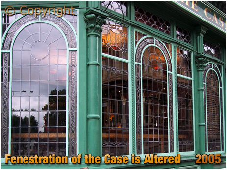 Fenestration of the Case is Altered at Sutton Coldfield