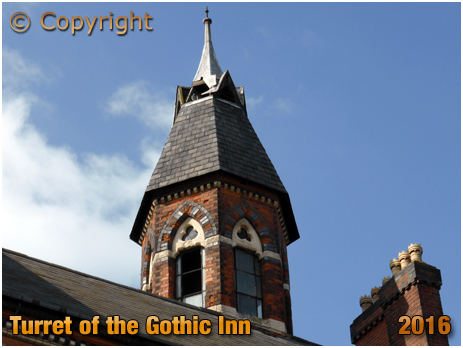 Octagonal Turret of the Gothic Inn at Hockley