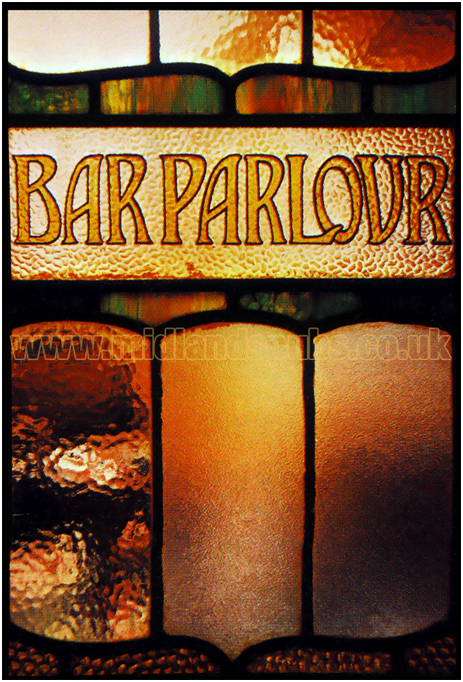 Bar Parlour Stained Glass
