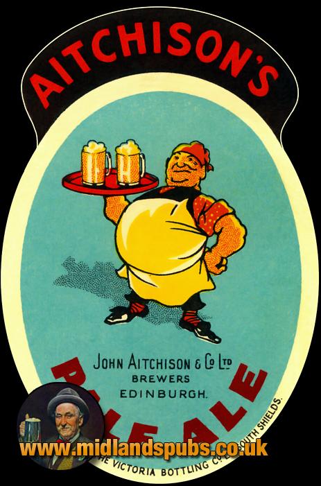 Aitchison's Pale Ale Beer Label [c.1940s]