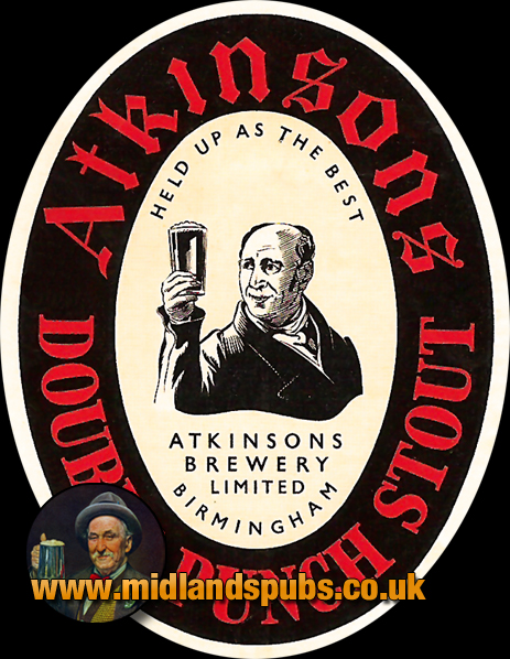 Atkinson's Double Punch Stout Beer Label [c.1950s]