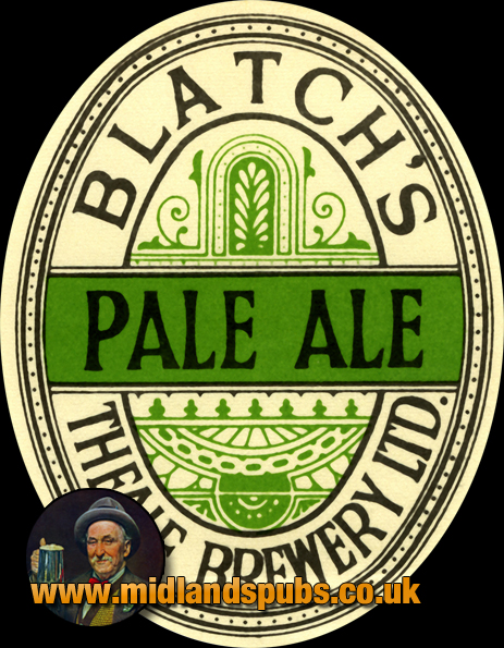 Blatch's Pale Ale Beer Label [c.1940s]