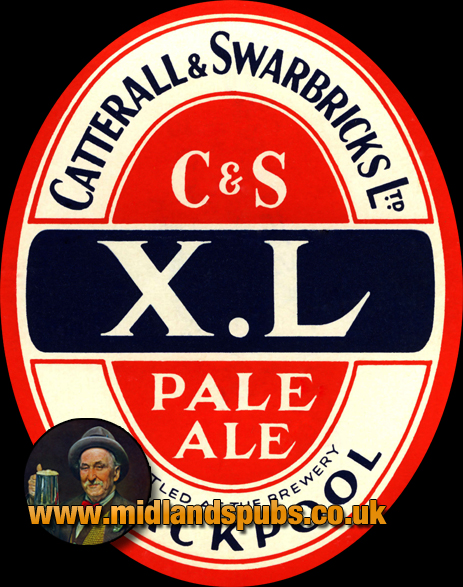 Catterall and Swarbrick's XM Pale Ale Beer Label [c.1950s]