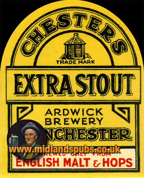 Chester's Extra Stout Beer Label [c.1950s]