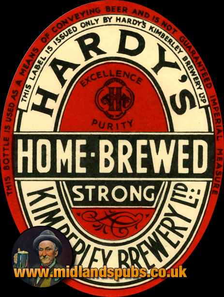 Hardy's Home-Brewed Strong Beer Label [c.1930]