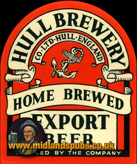 Hull Brewery Home-Brewed Export Beer Label [c.1940s]