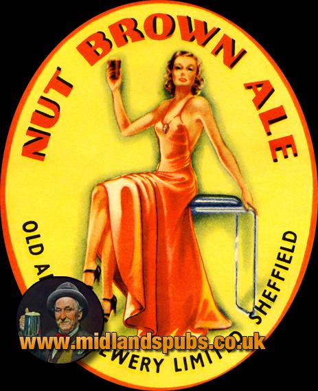 Old Albion Nut Brown Ale Beer Label [c.1930]