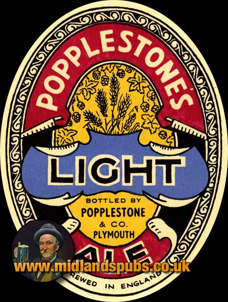 Popplestone's Light Ale Beer Label [c.1940s]