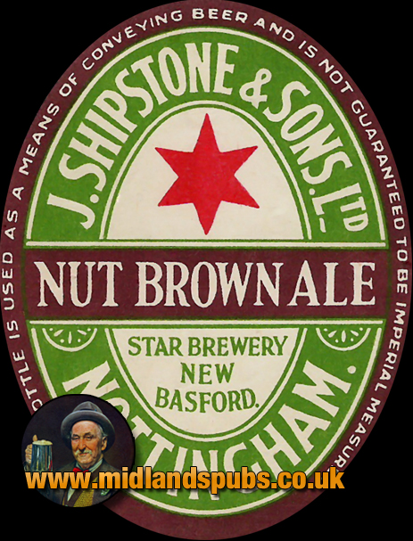 Shipstone's Nut Brown Ale Beer Label [c.1940s]