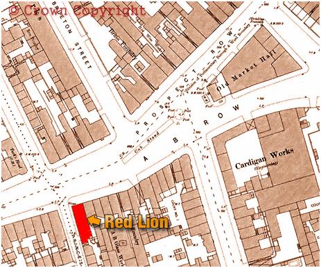 Birmingham : A. B. Row within Piggott-Smith's Plan [1861]
