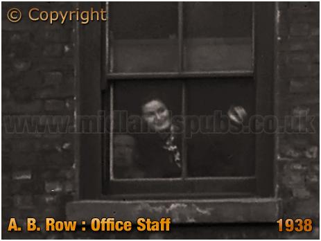 Birmingham : Office Staff of London Metal Warehouses Ltd. at A. B. Row [1938]