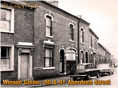 Birmingham : Nos. 90 & 91 Aberdeen Street at Winson Green [1960s]