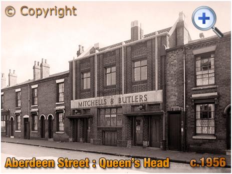 Birmingham : The Queen's Head in Aberdeen Street at Winson Green [c.1956]
