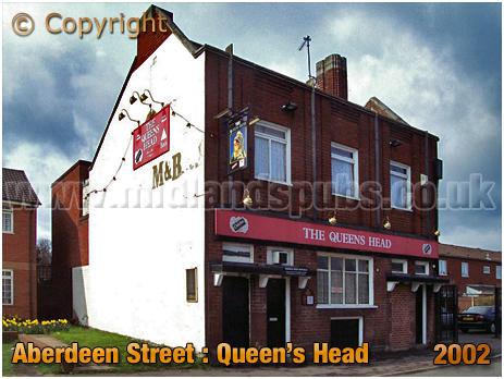 Birmingham : The Queen's Head in Aberdeen Street at Winson Green [2002]