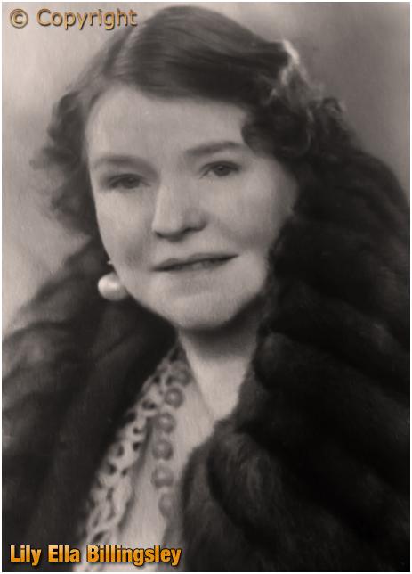 Birmingham : Lily Ella Billingsley of the Queen's Head in Aberdeen Street at Winson Green