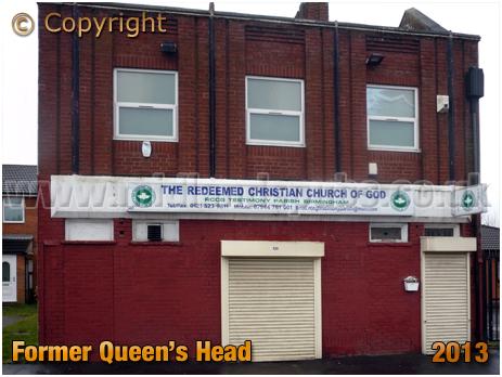 Birmingham : The Redeemed Christian Church of God in Aberdeen Street at Winson Green [2013]