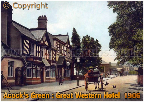 Birmingham : Great Western Hotel at Acock's Green [c.1906]