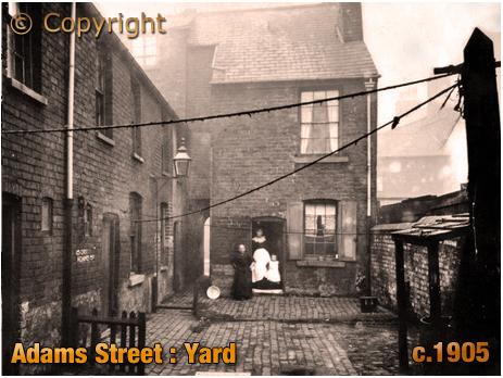Birmingham : Adams Street Yard at Duddeston [c.1905]