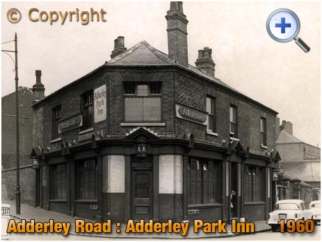 Birmingham : The Adderley Park Inn on Adderley Road at Saltley [1960]