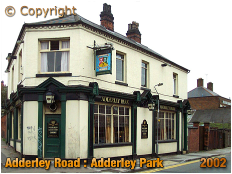 Birmingham : The Adderley Park and view of the Olive Branch on Adderley Road at Saltley [2002]