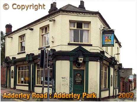 Birmingham : The Adderley Park on Adderley Road at Saltley [2002]