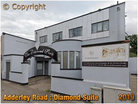 Birmingham : The Diamond Suite on Adderley Road at Saltley [2019]