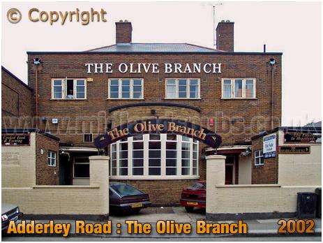 Birmingham : The Olive Branch on Adderley Park Inn on Adderley Road at Saltley [2002]