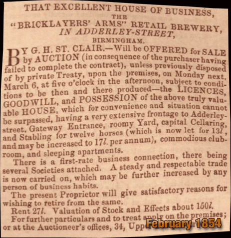 Birmingham : Public Apology to Samuel Howe by George Cornforth [1869]