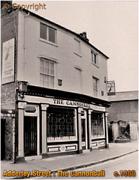 Birmingham : The Cannonball on Adderley Street in Bordesley [c.1988]