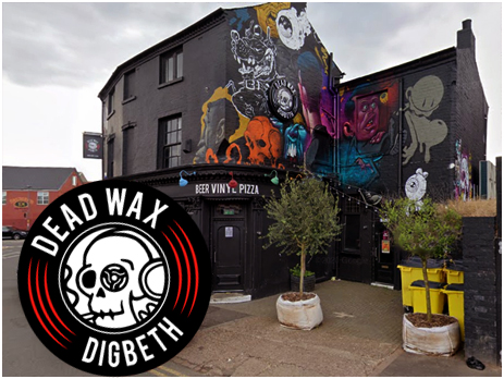 Birmingham : Dead Wax on Adderley Street in Bordesley [2020]