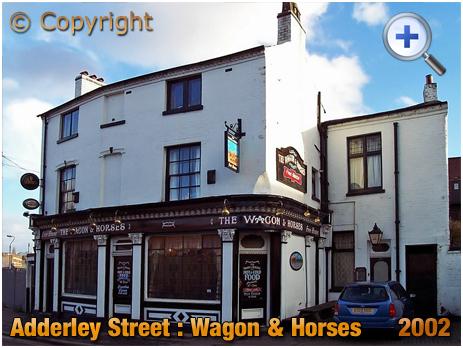 Birmingham : Waggon and Horses on Adderley Street in Bordesley [2002]