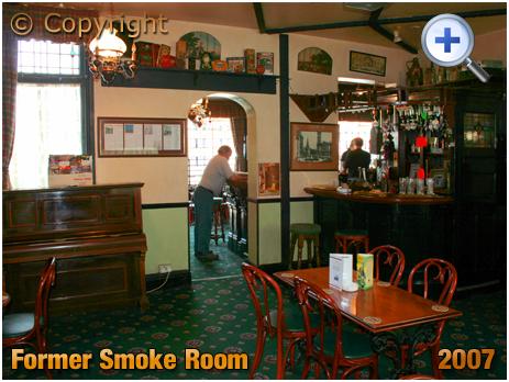 Birmingham : Former Smoke Room of the Waggon and Horses on Adderley Street in Bordesley [2007]