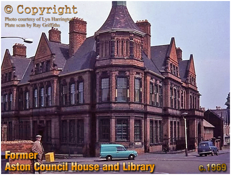 Birmingham : Former Council Offices and Library at Albert Road in Aston [c.1969]