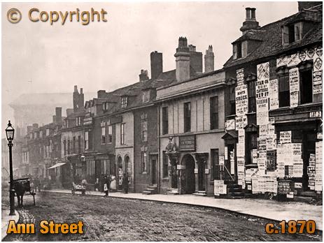 Birmingham : Ann Street looking towards the Town Hall [c.1870]