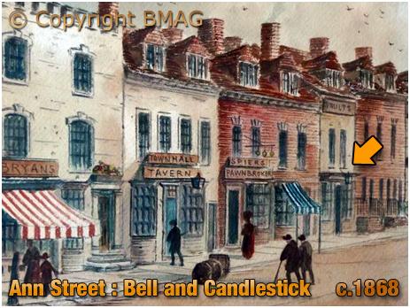Birmingham : Bell and Candlestick on Ann Street [c.1868]