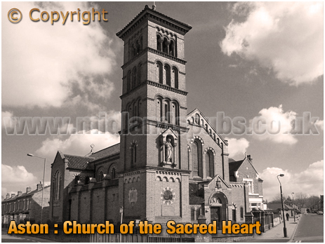Birmingham : Roman Catholic Church of the Sacred Heart at Aston [2002]