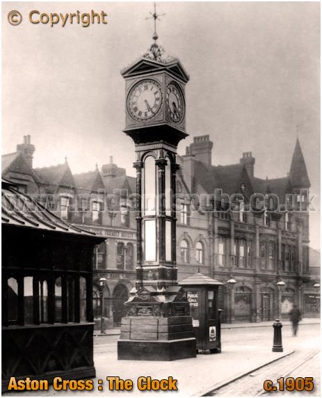 Birmingham : The Clock at Aston Cross [c.1905]