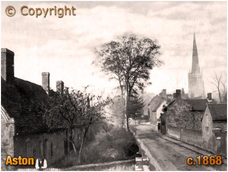 Birmingham : Aston Village with Holte Almshouses [c.1868]