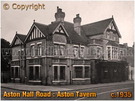 Birmingham : Aston Tavern on Aston Hall Road [c.1935]