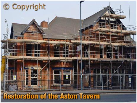 Birmingham : Restoration of the Aston Tavern on Aston Hall Road [c.2013]