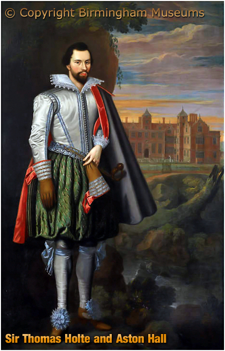 Sir Thomas Holte and Aston Hall [Courtesy of Birmingham Museums]