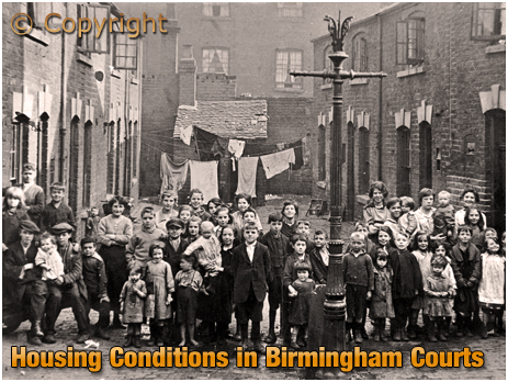 Birmingham : Typical Conditions with Back-to-Back Courts