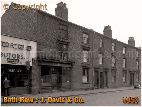 Birmingham : J. Davis & Co. on Bath Row [1953]
