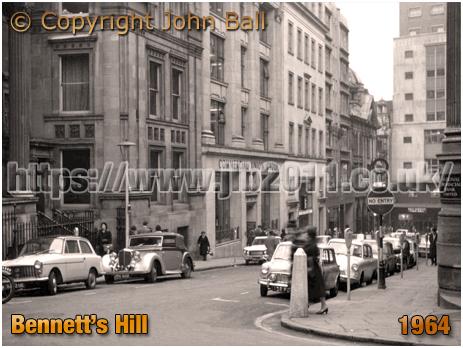Birmingham : Bennett's Hill [1964 © John Ball]