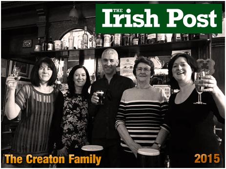 Birmingham : The Creaton family at the White Swan in Deritend [2015]