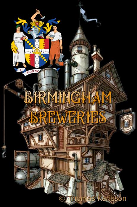 Birmingham Breweries [© Illustration by Thomas Karlsson]
