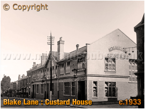 Birmingham : The Custard House on Blake Lane at Little Bromwich in Bordesley Green [c.1933]