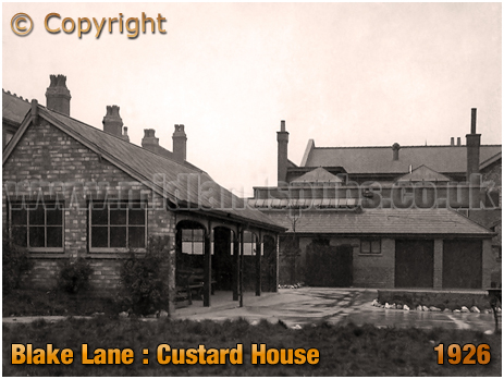 Birmingham : Pavilion of the Custard House on Blake Lane at Little Bromwich in Bordesley Green [1926]
