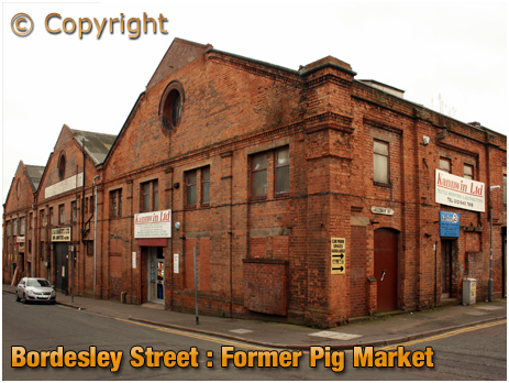 Birmingham : Former Pig Market on the corner of Bordesley Street and Allison Street [2008]
